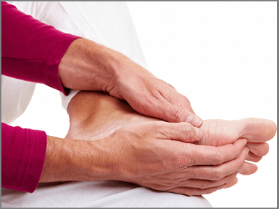 Béo phì gây đau và tê chân