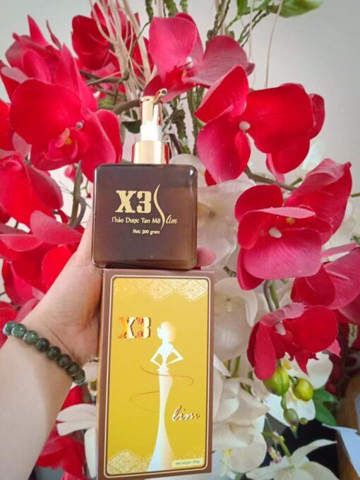Gel tan mỡ X3 Slim Đông Y Mộc Linh