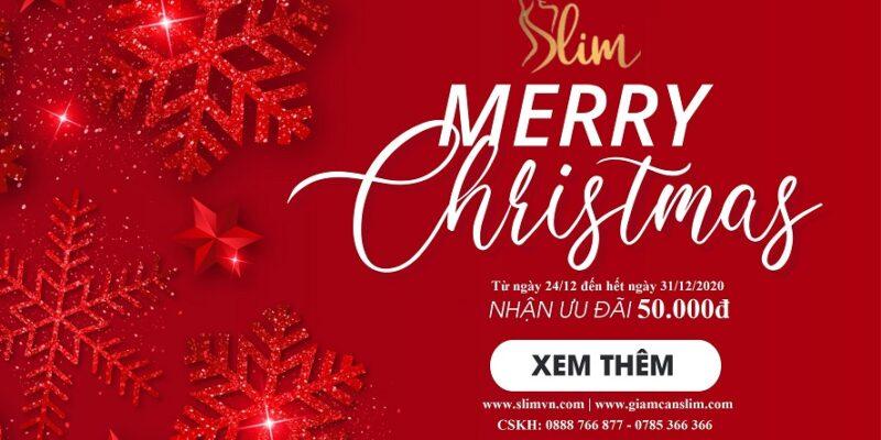 Giảm cân SlimX3 - Giang sinh an lanh - Happy new year 2021 - Rev2
