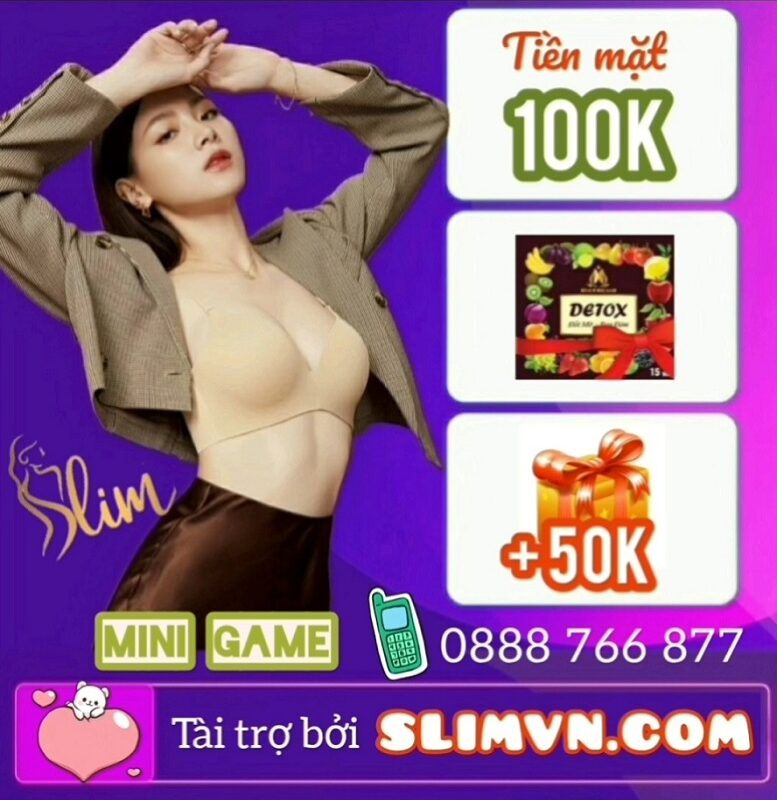 Mini game Giảm cân Slim X3 - Chơi vui chơi dễ nhận quà HOT liền tay